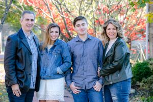 Family Photo session in the fall in Chester County PA