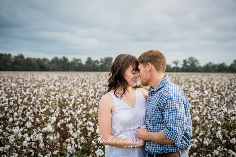 Engagement Session, cotton field, engagements, bride, groom, southern wedding, wedding photography