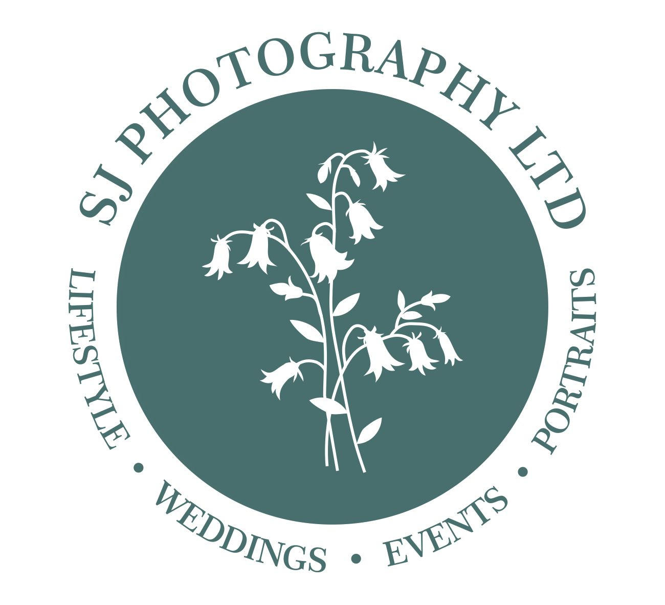 SJ Photography, logo, Tapestry, Lifestyle, Weddings, Events, Portraits