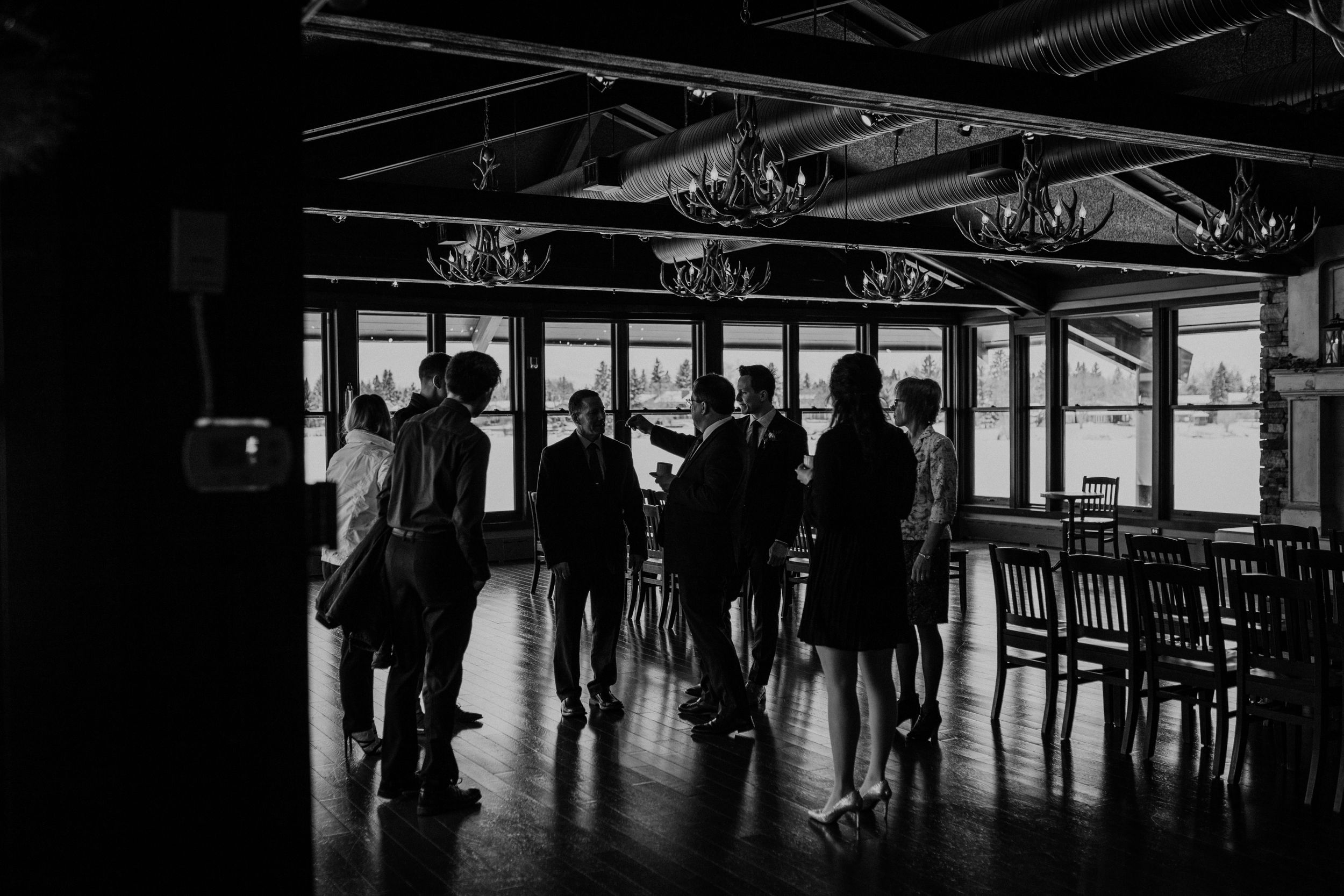 The Lake house Calgary wedding