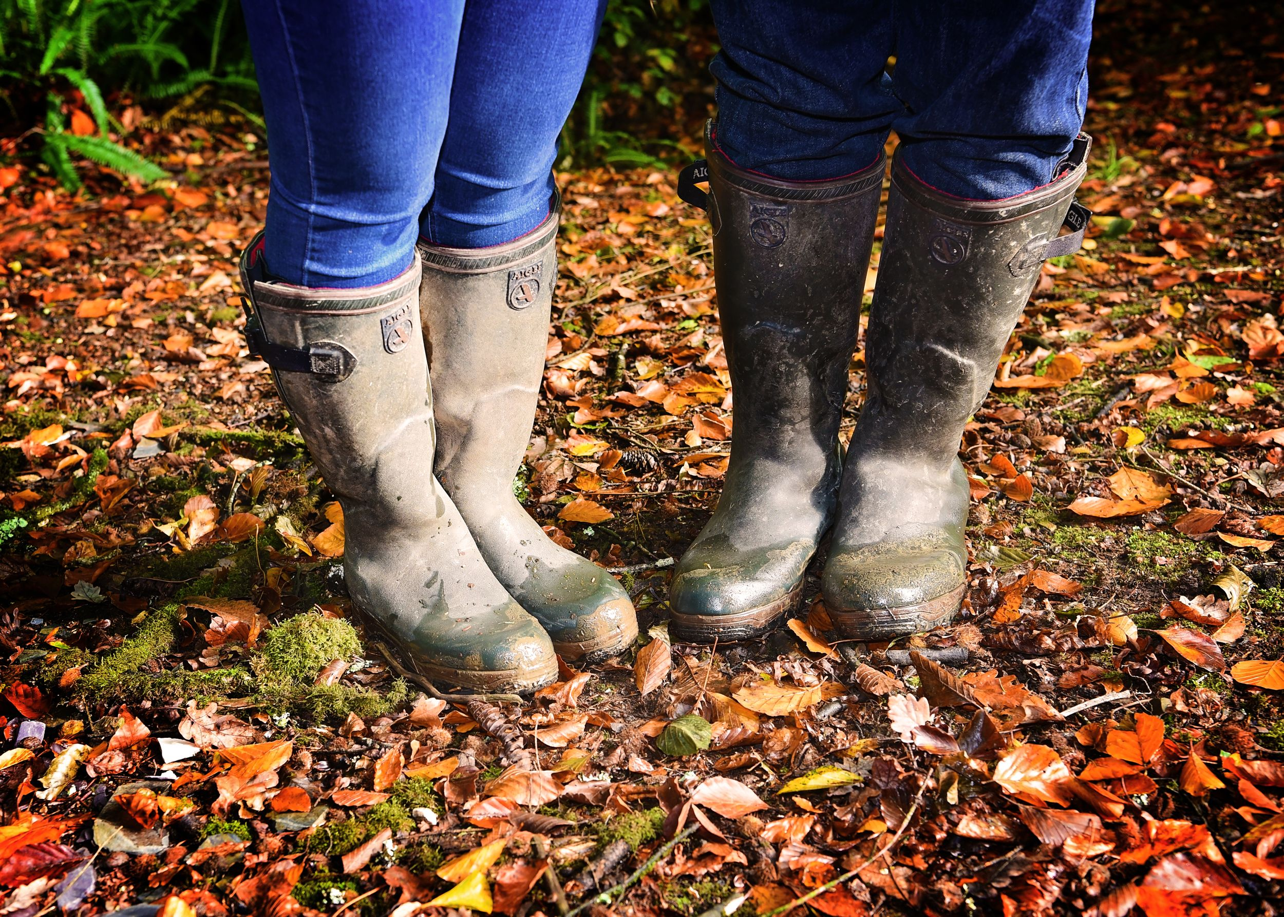 Wellies Engagement Photos