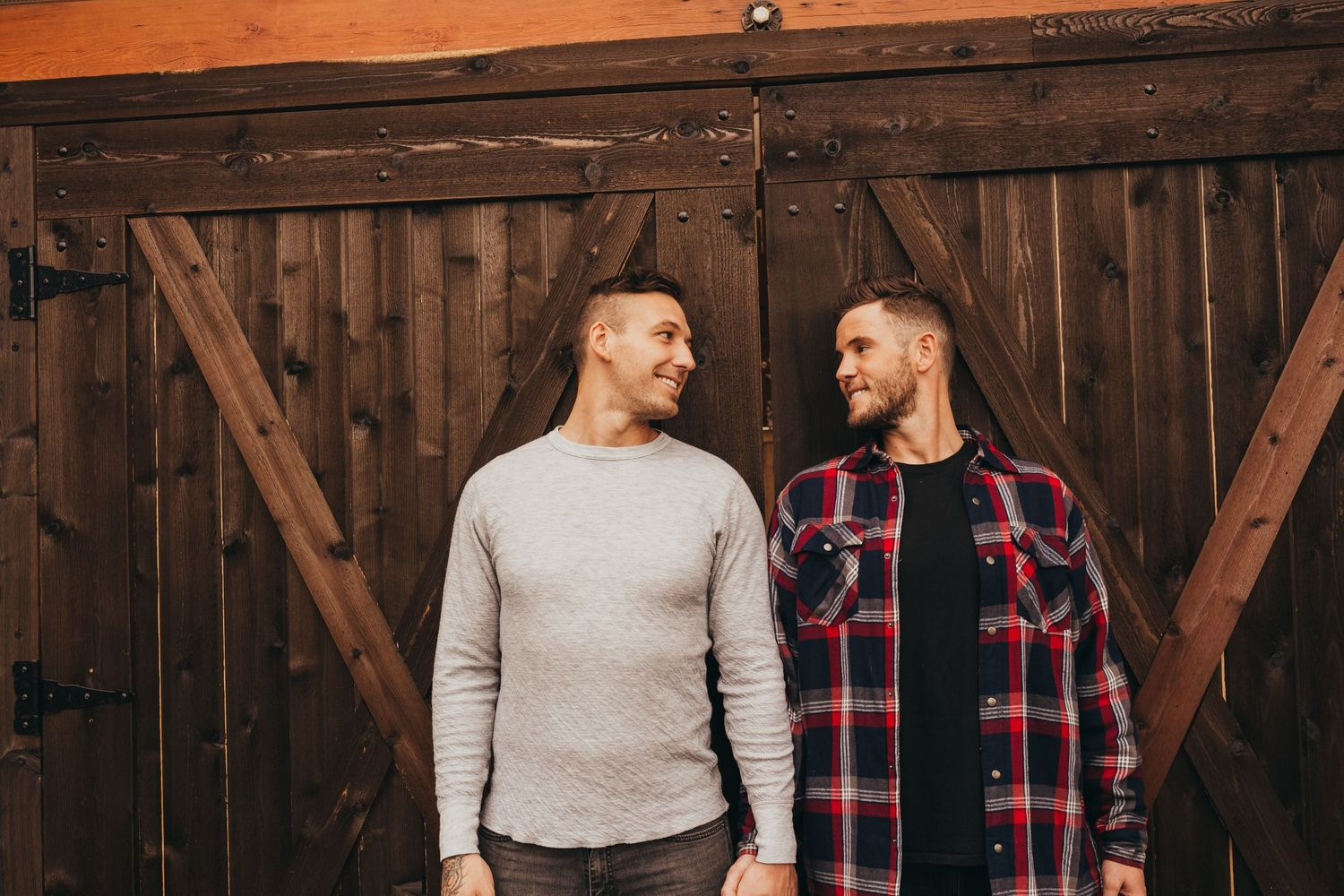 joey and Taylor engagement photos gay wedding two grooms Soulful Hues Photography