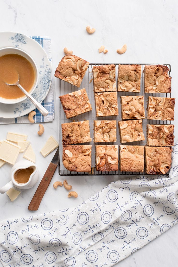 Blondies Food Photography by Charity Beth Long