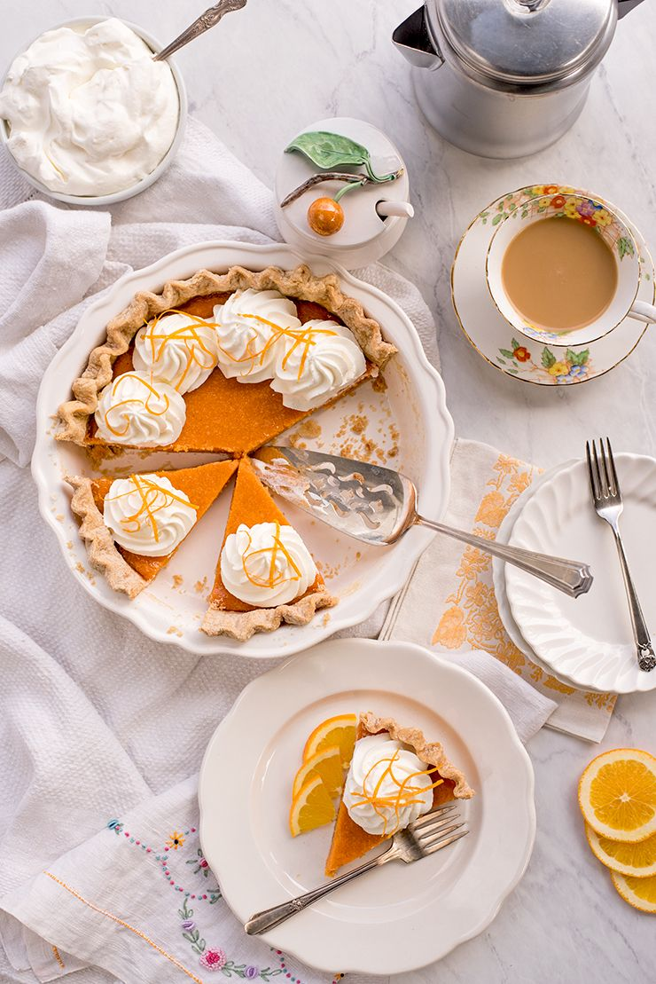 Sweet Potato Pie Food Photography by Charity Beth Long