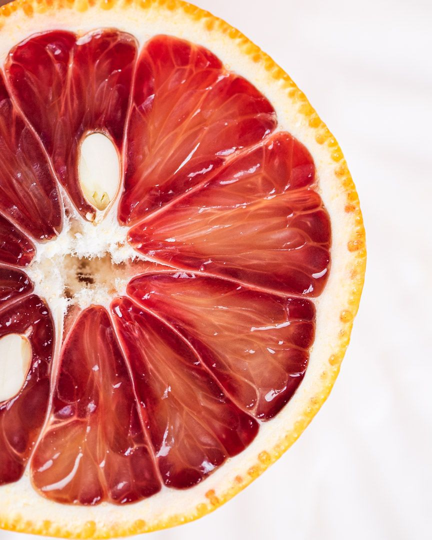 Emily Miller, Tucson, Food Photographer, Blood Orange Slice
