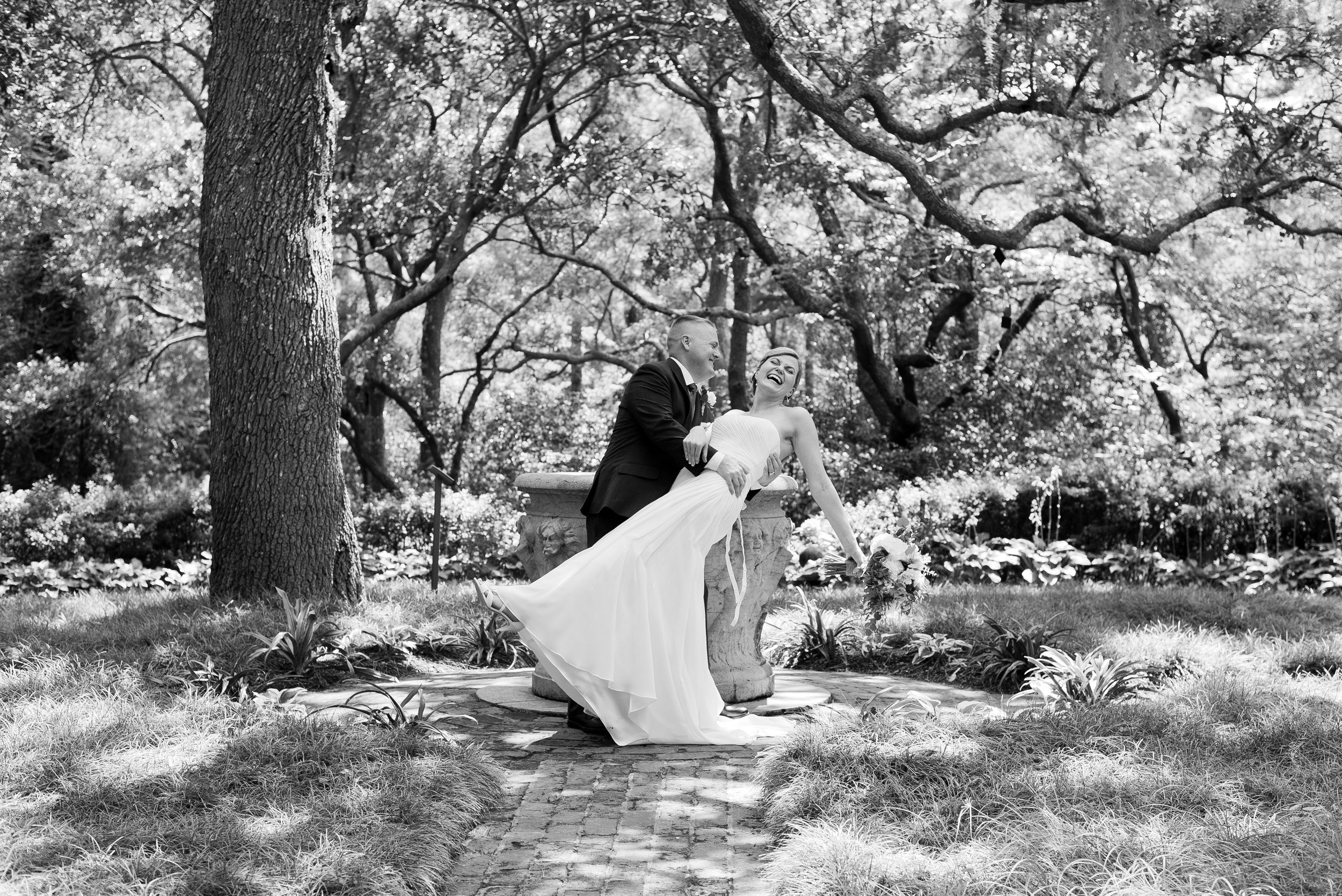 Elizabethan Gardens, North Carolina, Wedding