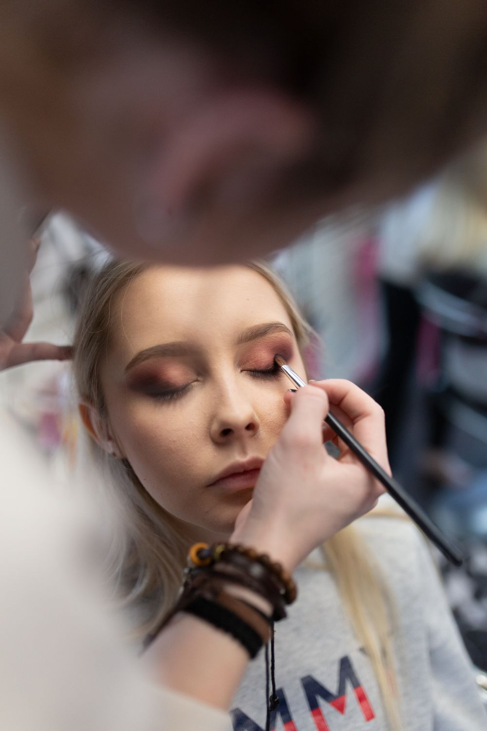 Kawartha Lakes styled shoot makeup behind the scenes