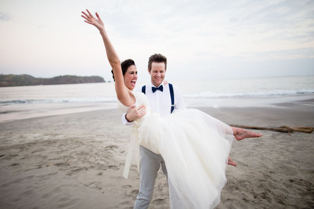 Playa Carrillo wedding photos, Costa Rica
