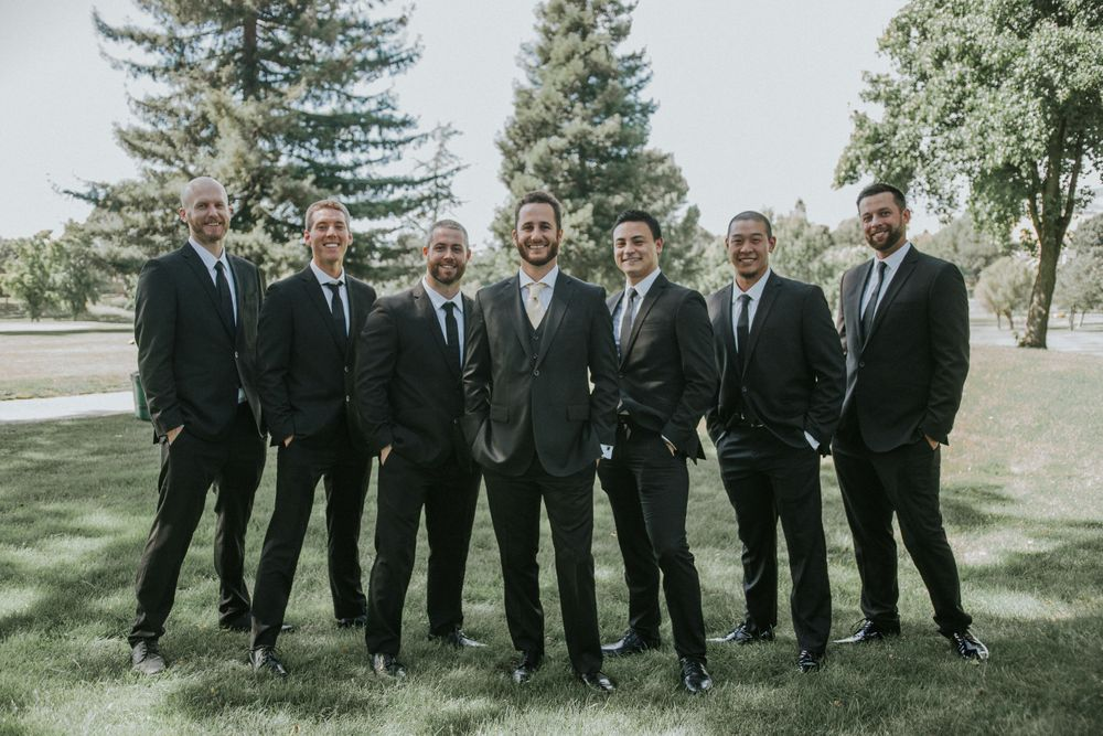 rebecca skidgel photography crow canyon country club danville wedding photographer groom and groomsmen photos