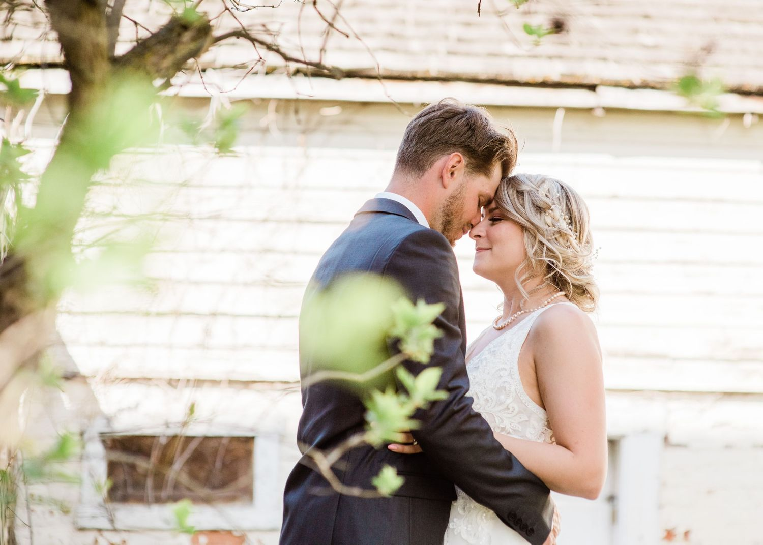 small-weddings-covid-weddings-bride-and-groom-happy-first-look