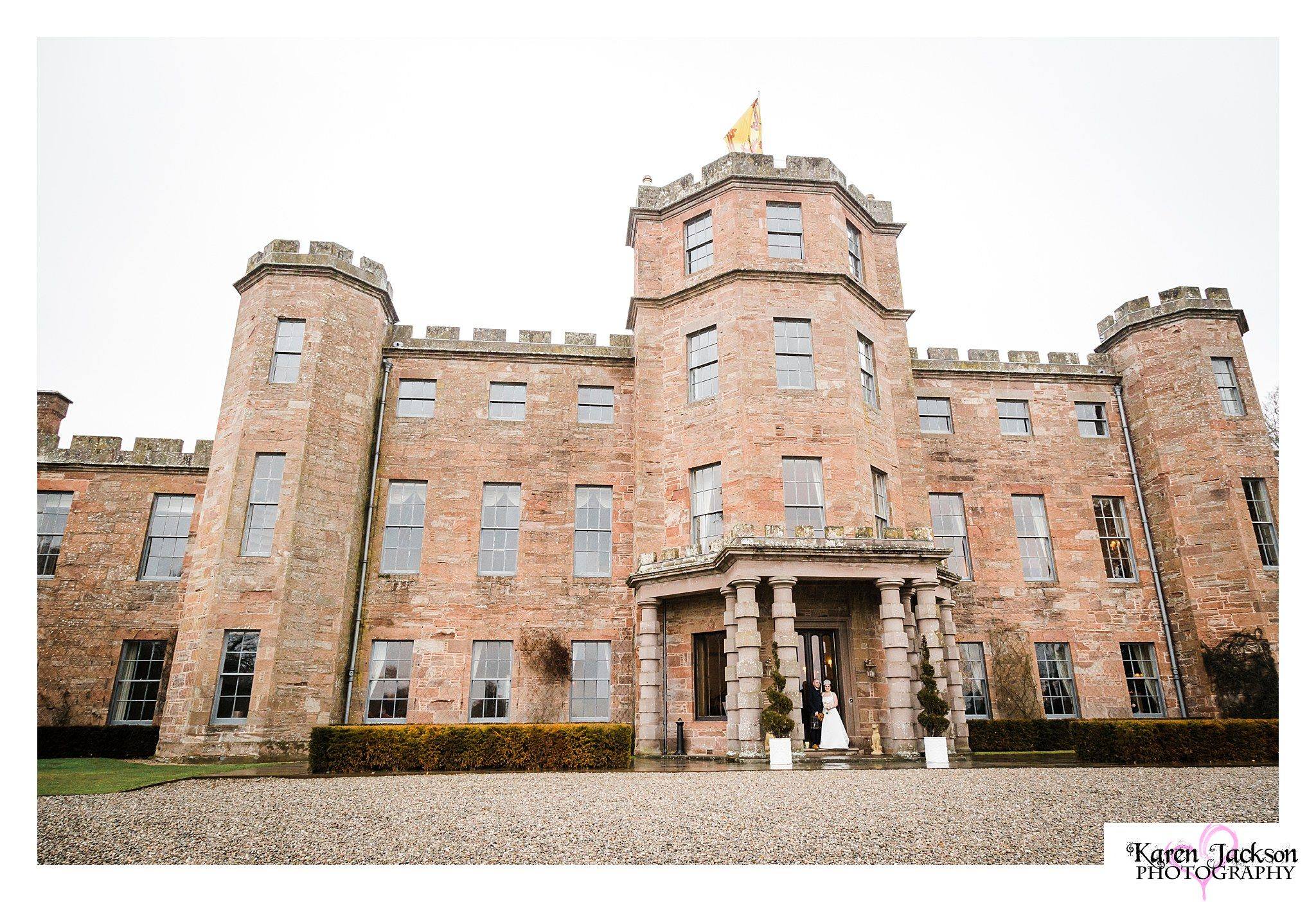 Fasque Castle wedding photography scotland angus