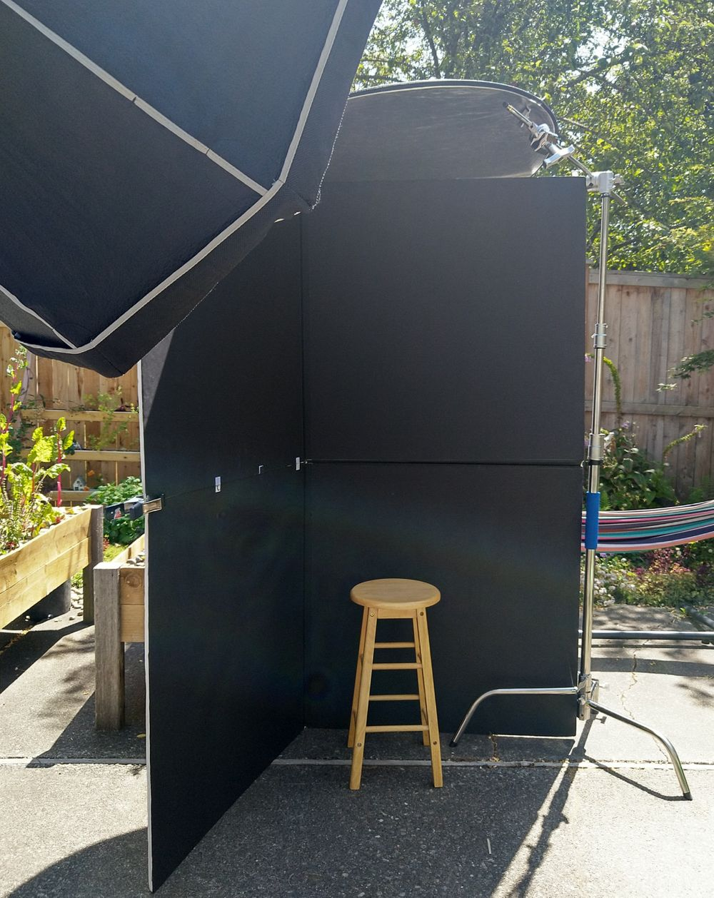 Outdoor Portrait Set-Up