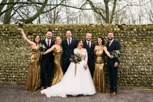 Brighton Wedding photographer fun alternative Allison Dewey photography Cissbury Barn Wedding