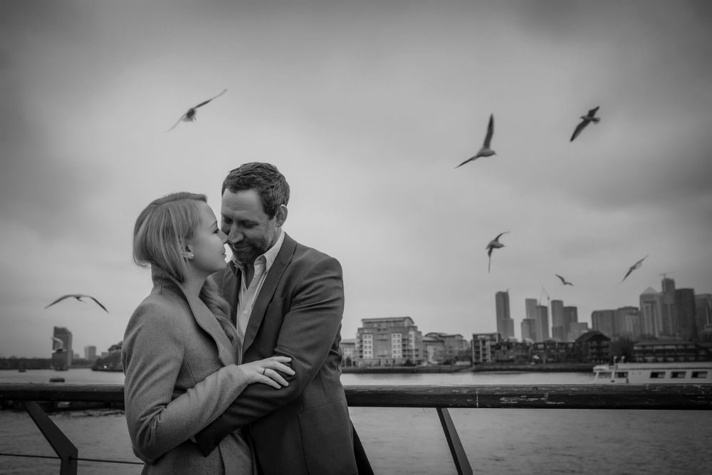 Greenwich, London engagement photos
