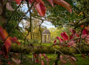 autumn at Doddington Hall