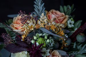 Bouquet at a festival wedding