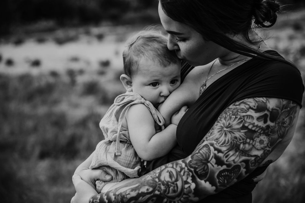 Breastfeeding Sessions + Raleigh NC Photographer