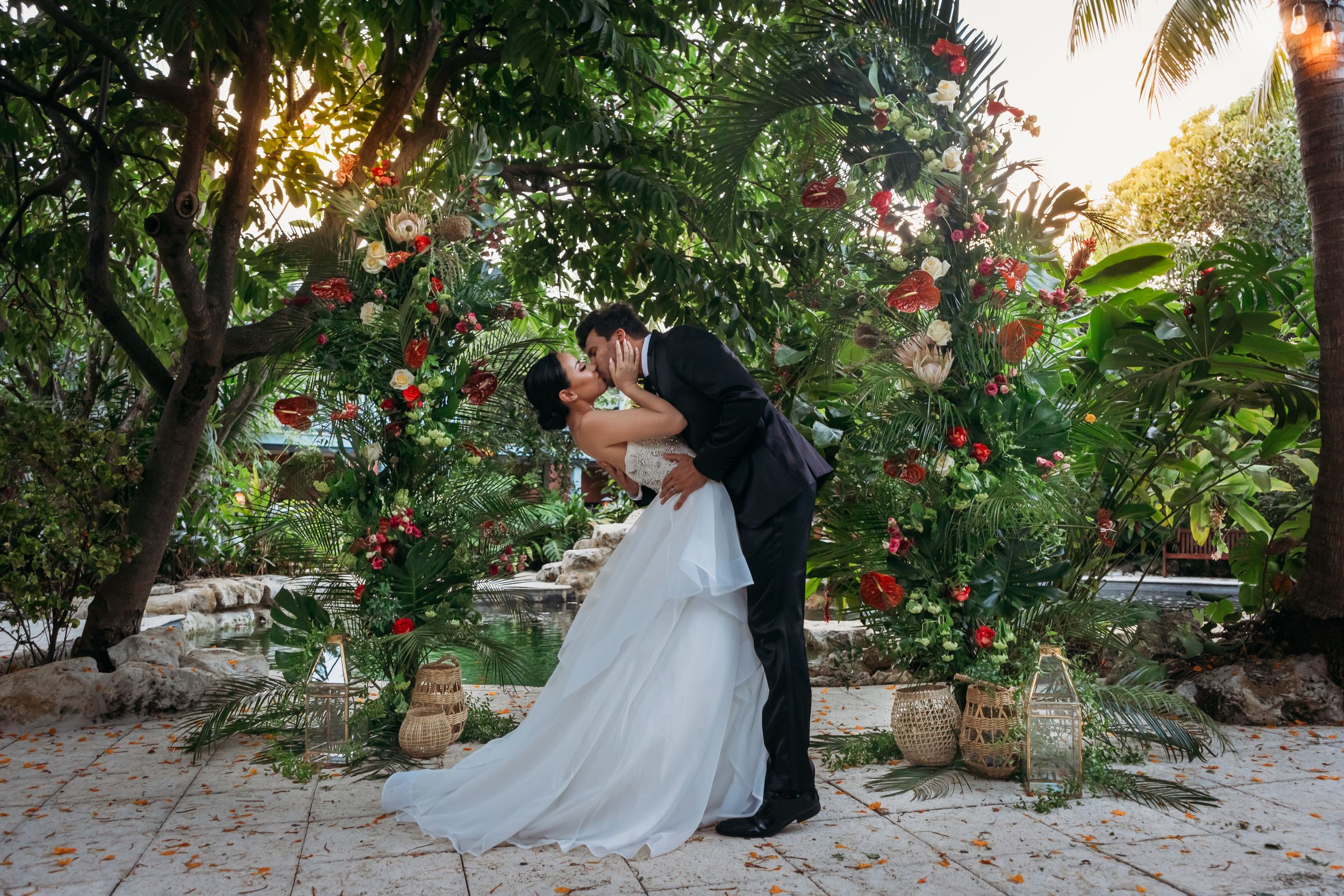 South Florida Intimate Wedding Photographer, Sundy House, Delray Beach
