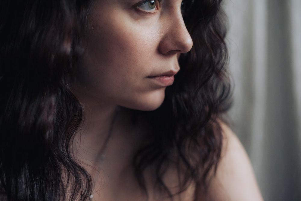 soft profile portrait of woman, issaquah wa by shutterbabe snapshots