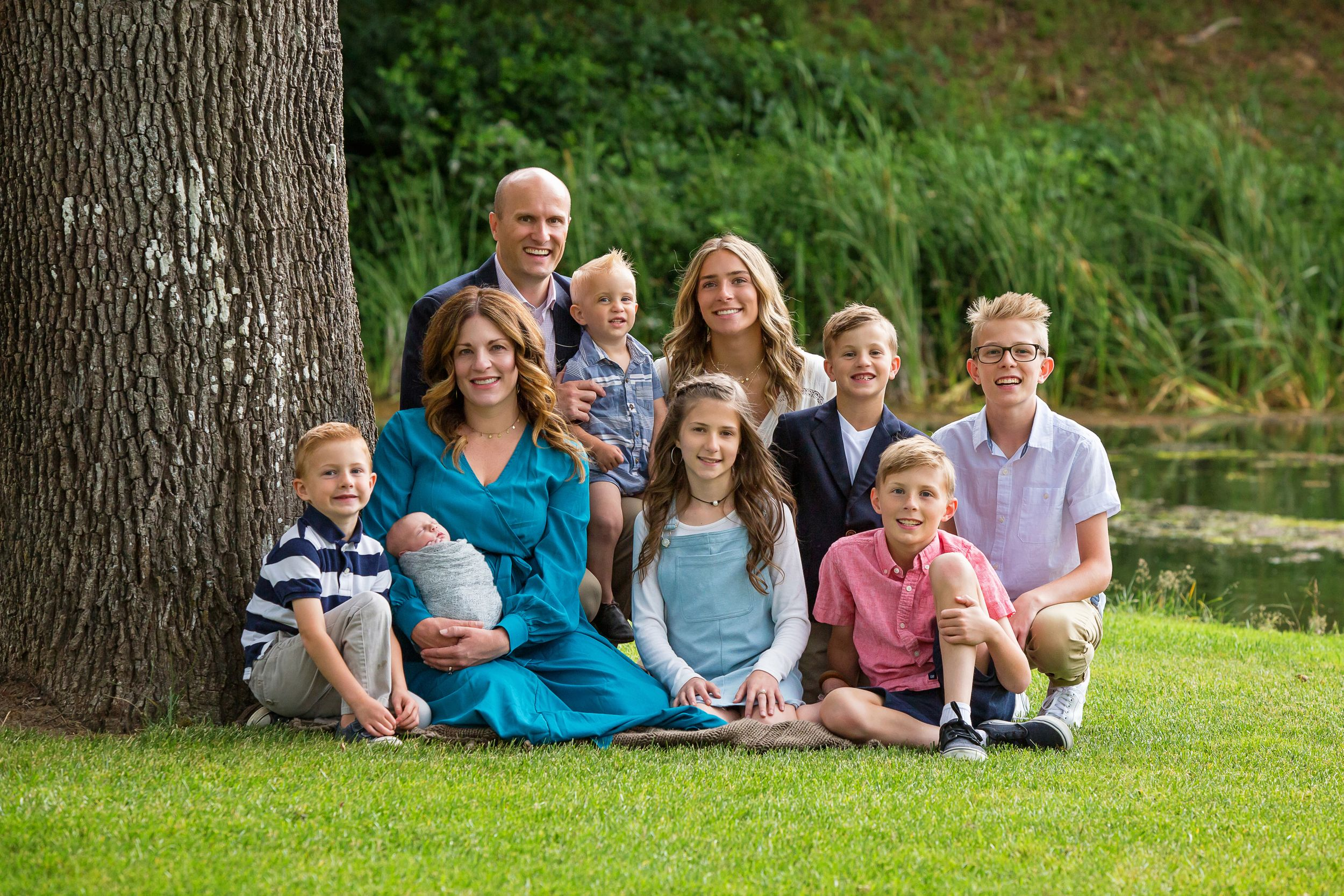 Family Photograph taken outdoors in Salem Oregon