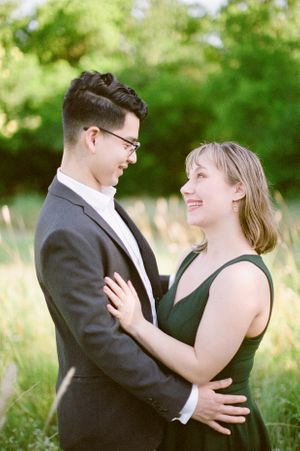 Fort Worth Dallas Wedding photographer Elizabeth Couch Plano nature preserve film photography