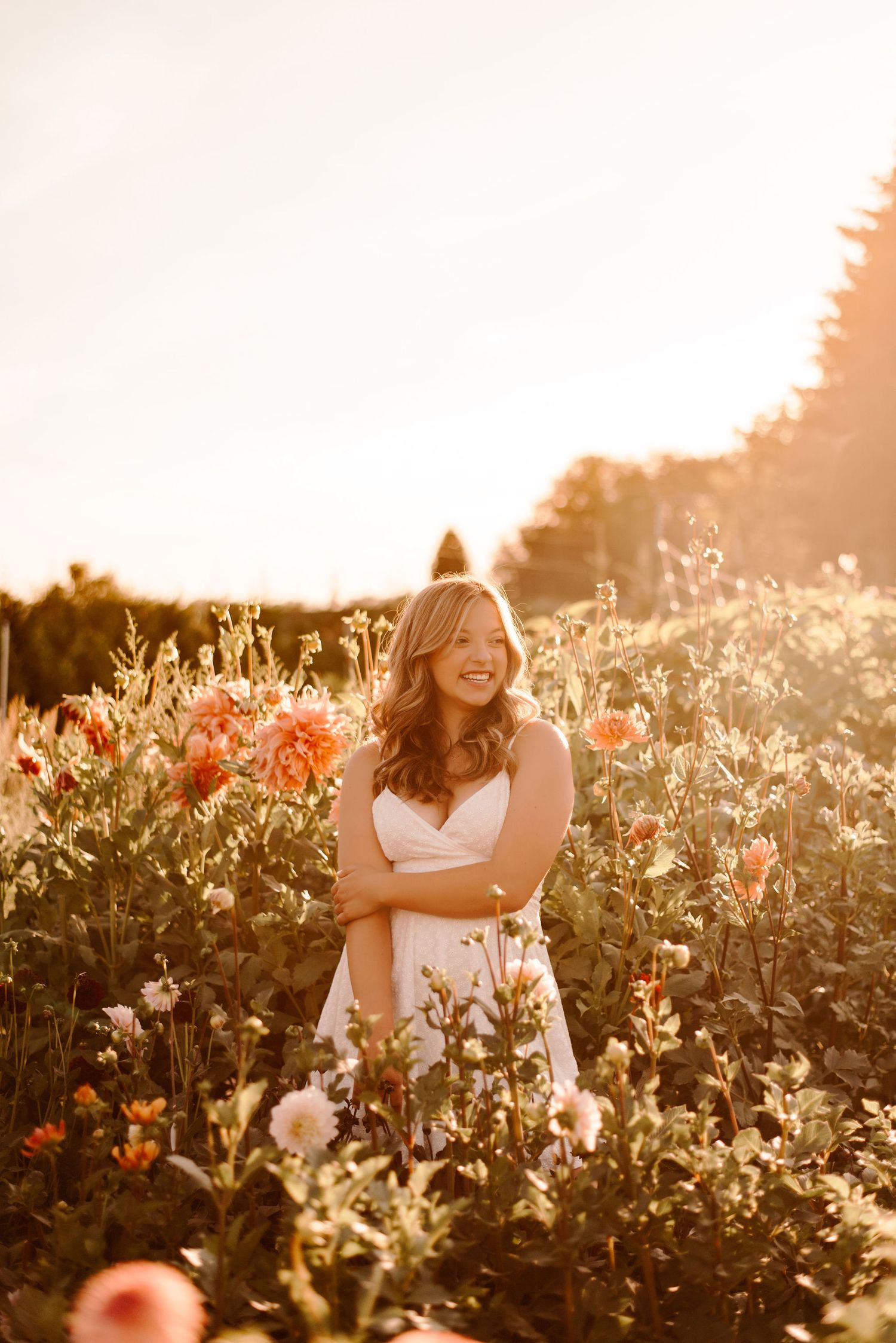 Greenhouse Senior Portraits | Snohomish Senior Photographer | Seattle Senior Photographer | Pine Creek Nursery