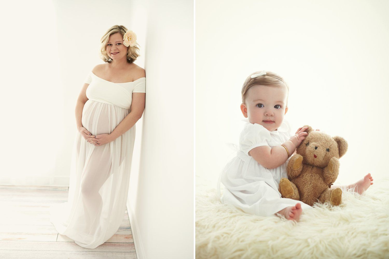 Maternity and baby session package
