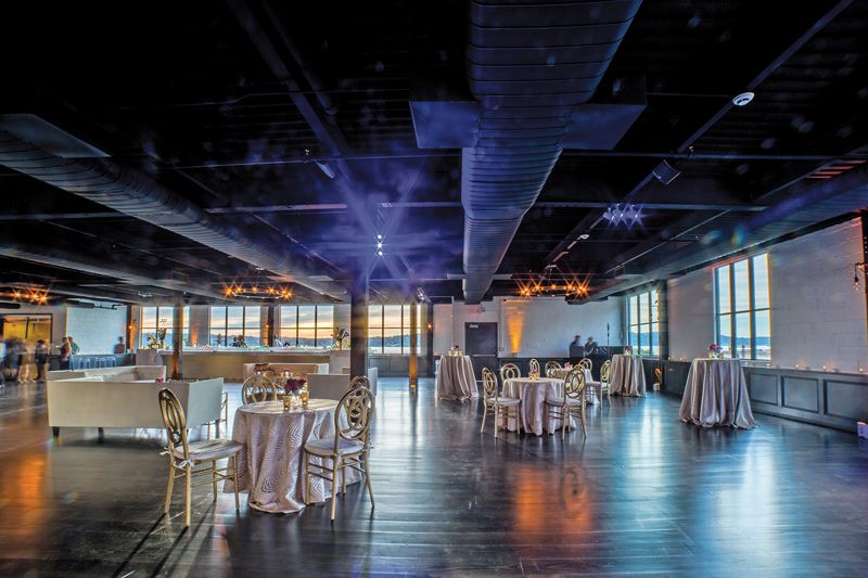 Hudson Loft Hudson Valley industrial wedding venue
