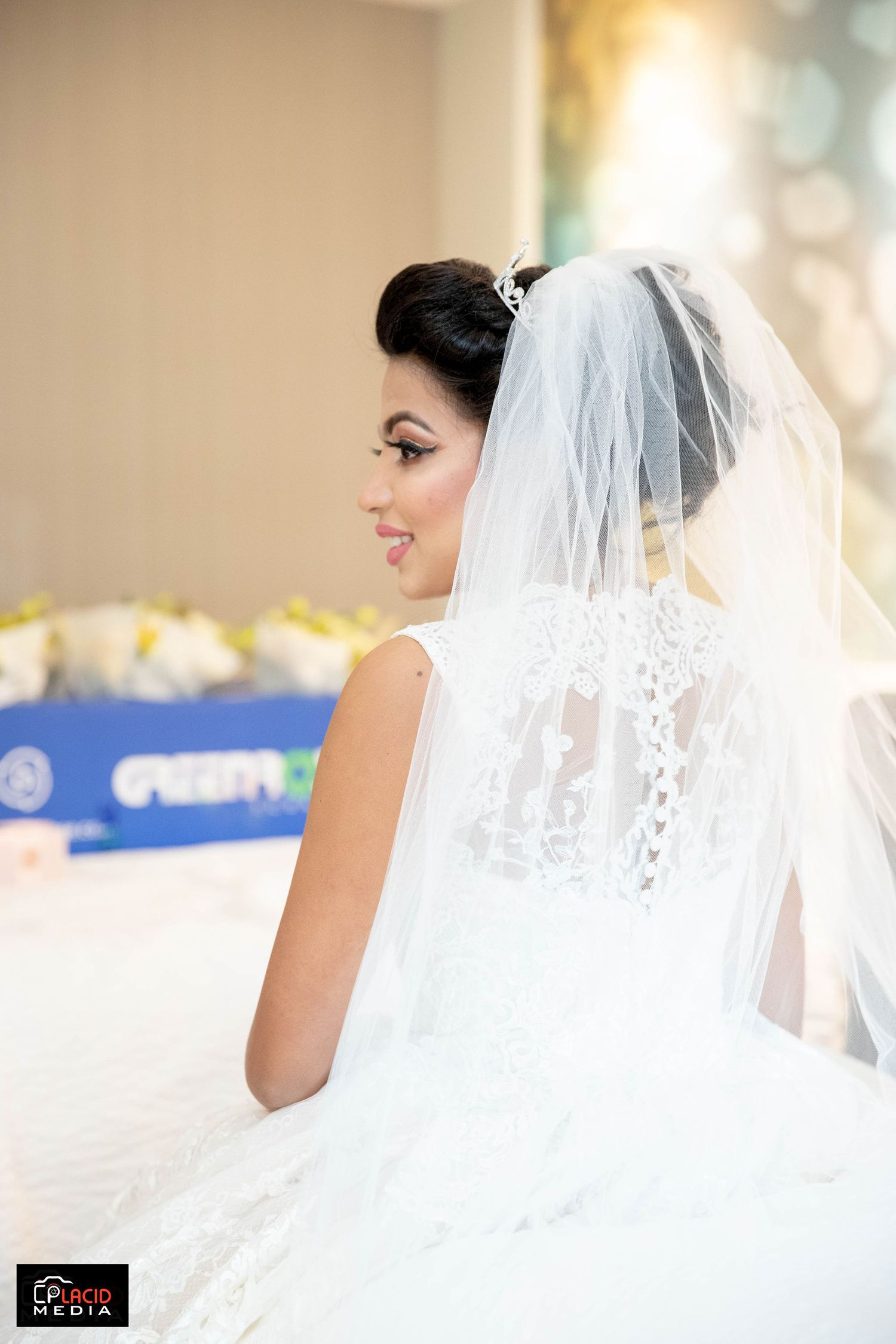 Beutiful Bride on her wedding day