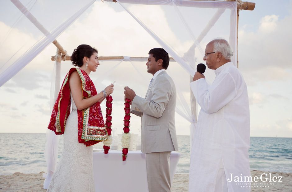 Indian wedding at the Fairmont Mayakoba