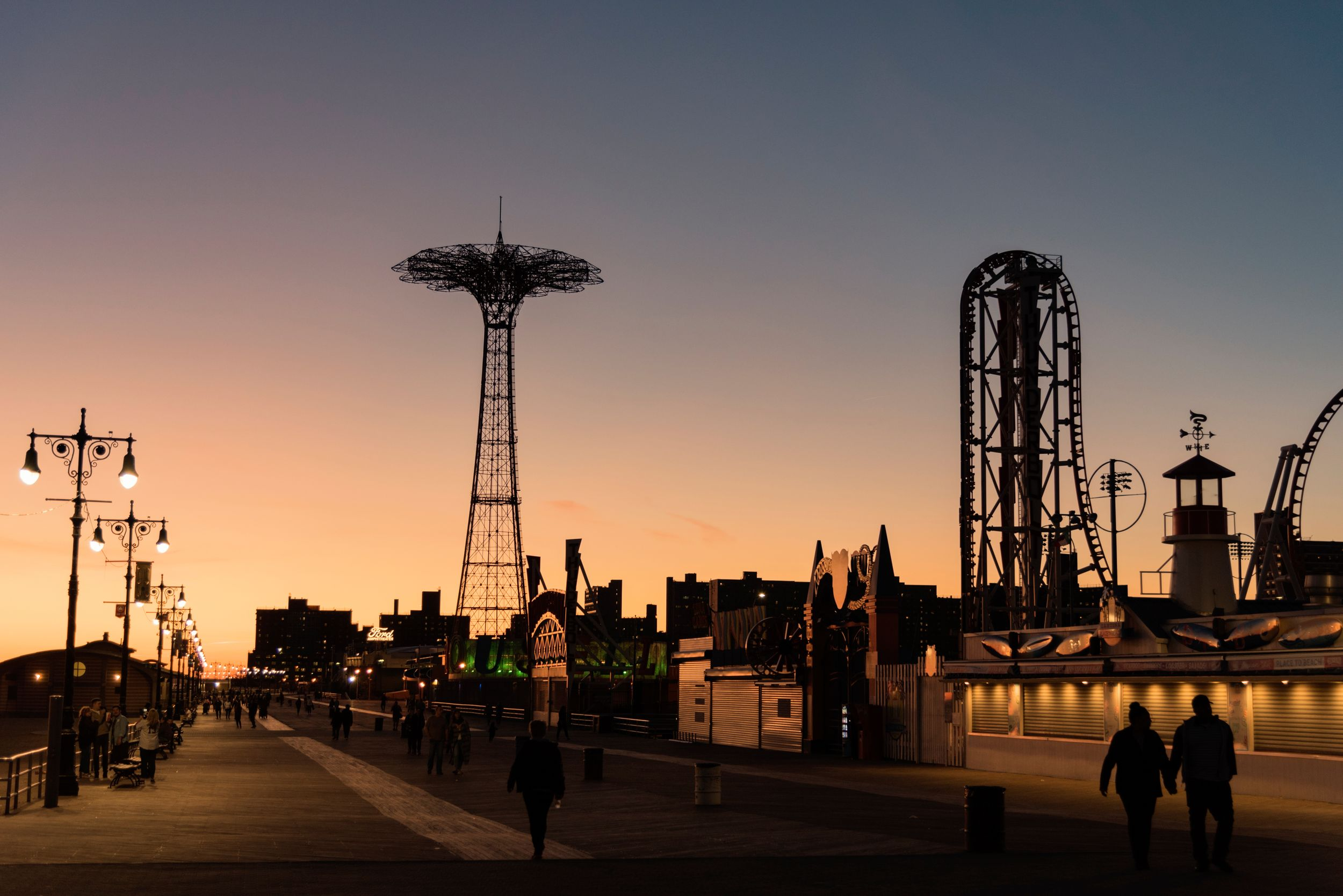 coney island wedding photography
