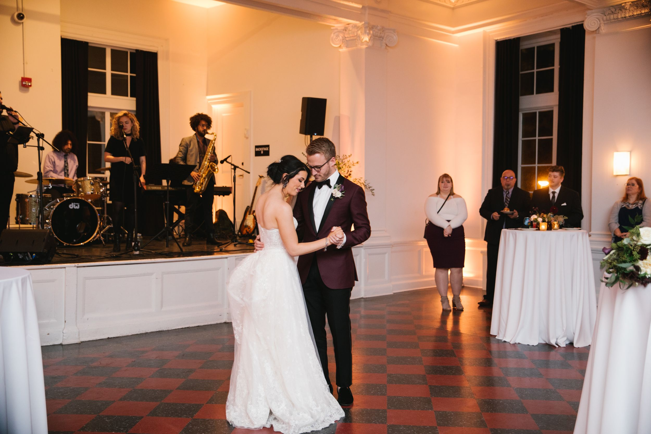 first dance in hall with live band toronto