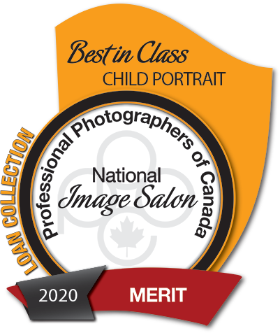 Best in Class in Child Portrait awarded by Professional Photographers of Canada to Ammara Crittenden - Little Red 2020