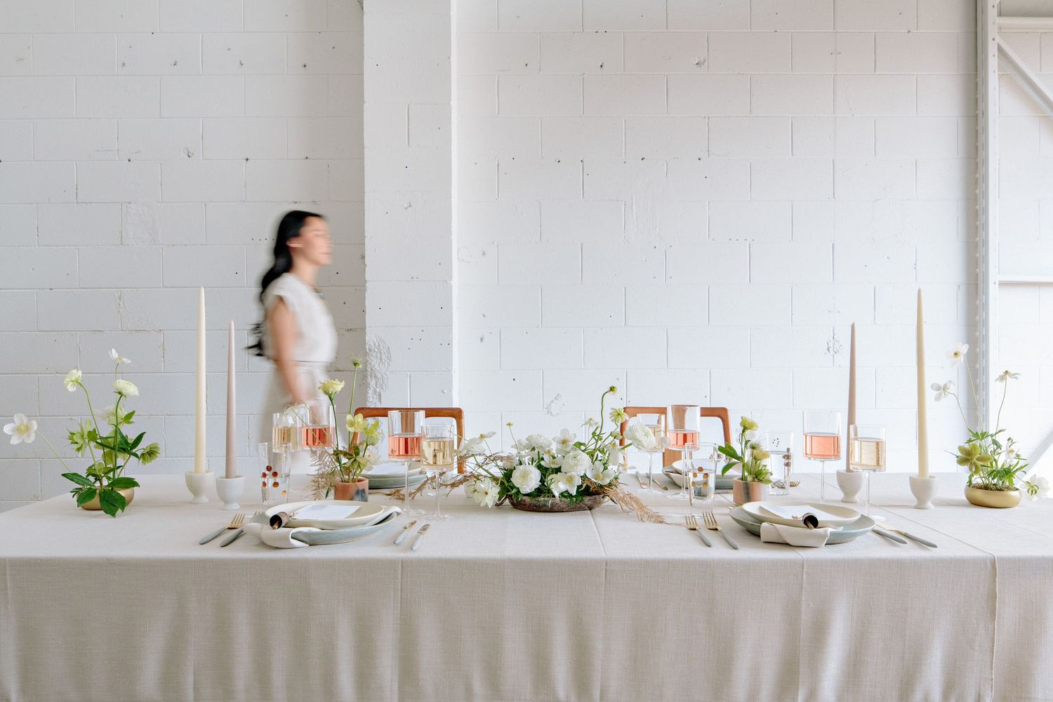 styled shoot table decor