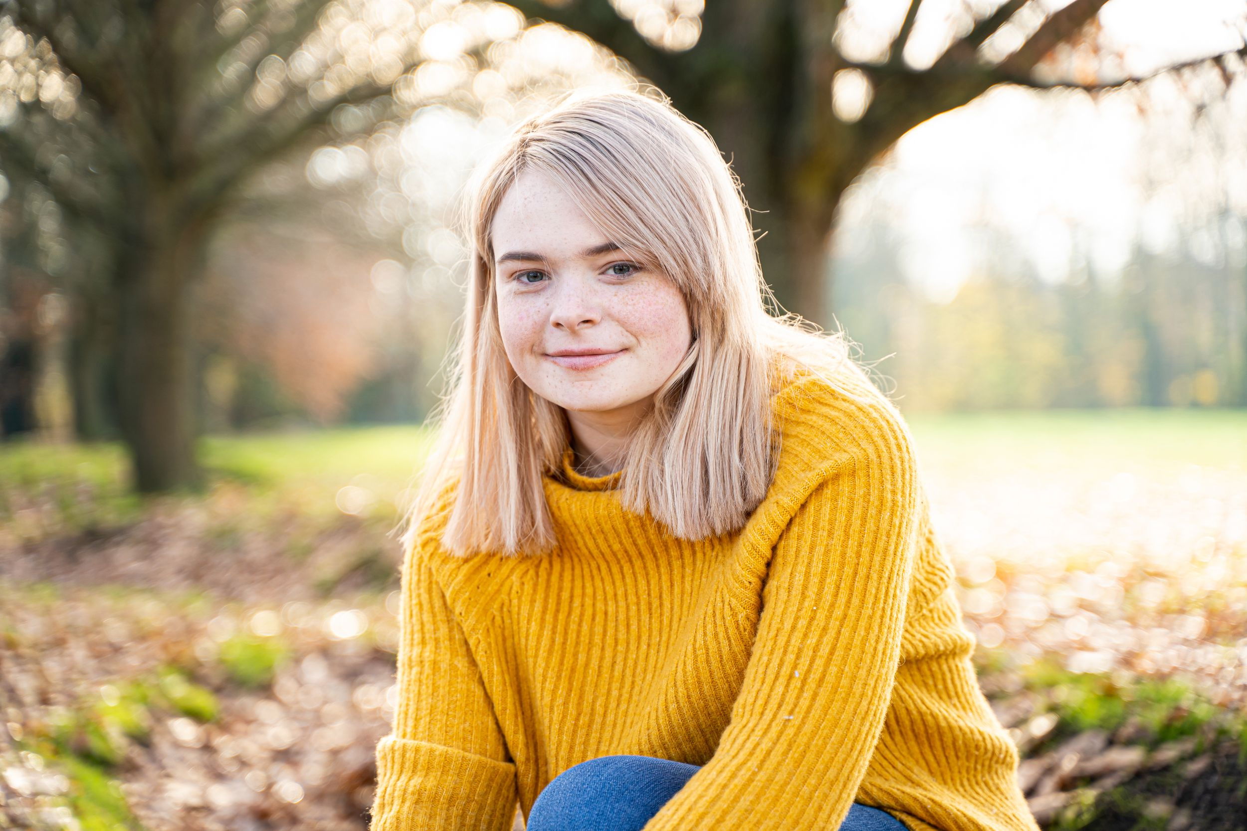 Portrait Photography Oxfordshire Autumn Golden Hour Oxford Photographer