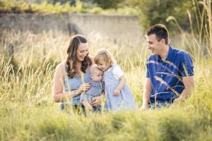 Family Portrait Photography Summer Oxfordshire Oxford Photographer