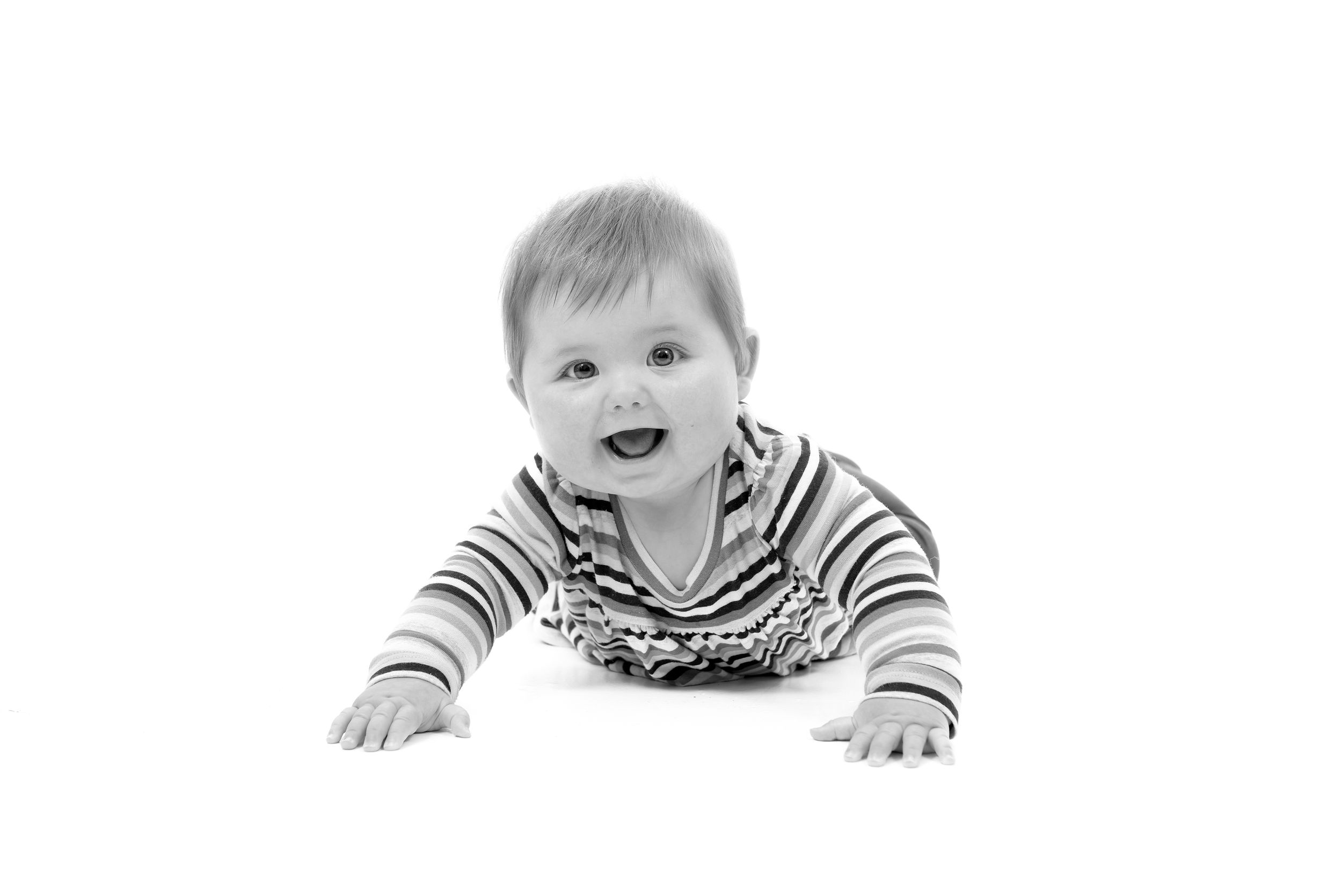 Family Black and White Studio Portrait Photography Oxfordshire Oxford Photographer