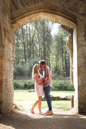 Couple Romantic Portrait Summer Photography Oxfordshire Oxford Photographer Squib