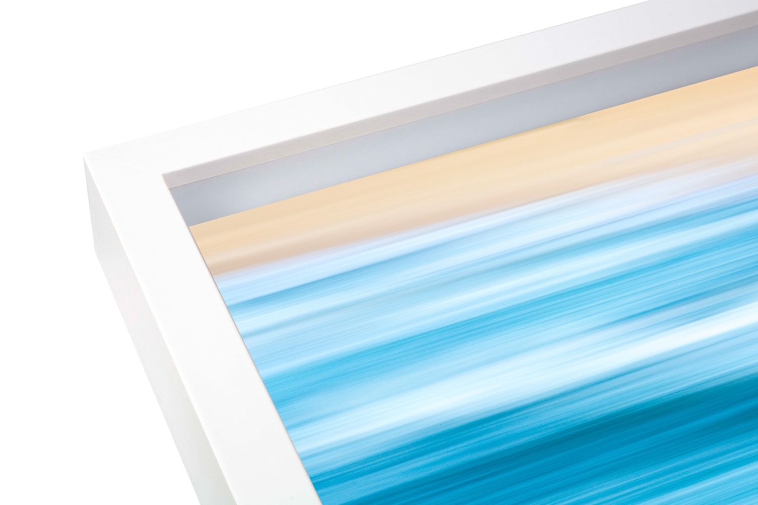 Salty Gallery offers box framed prints of its ocean imagery