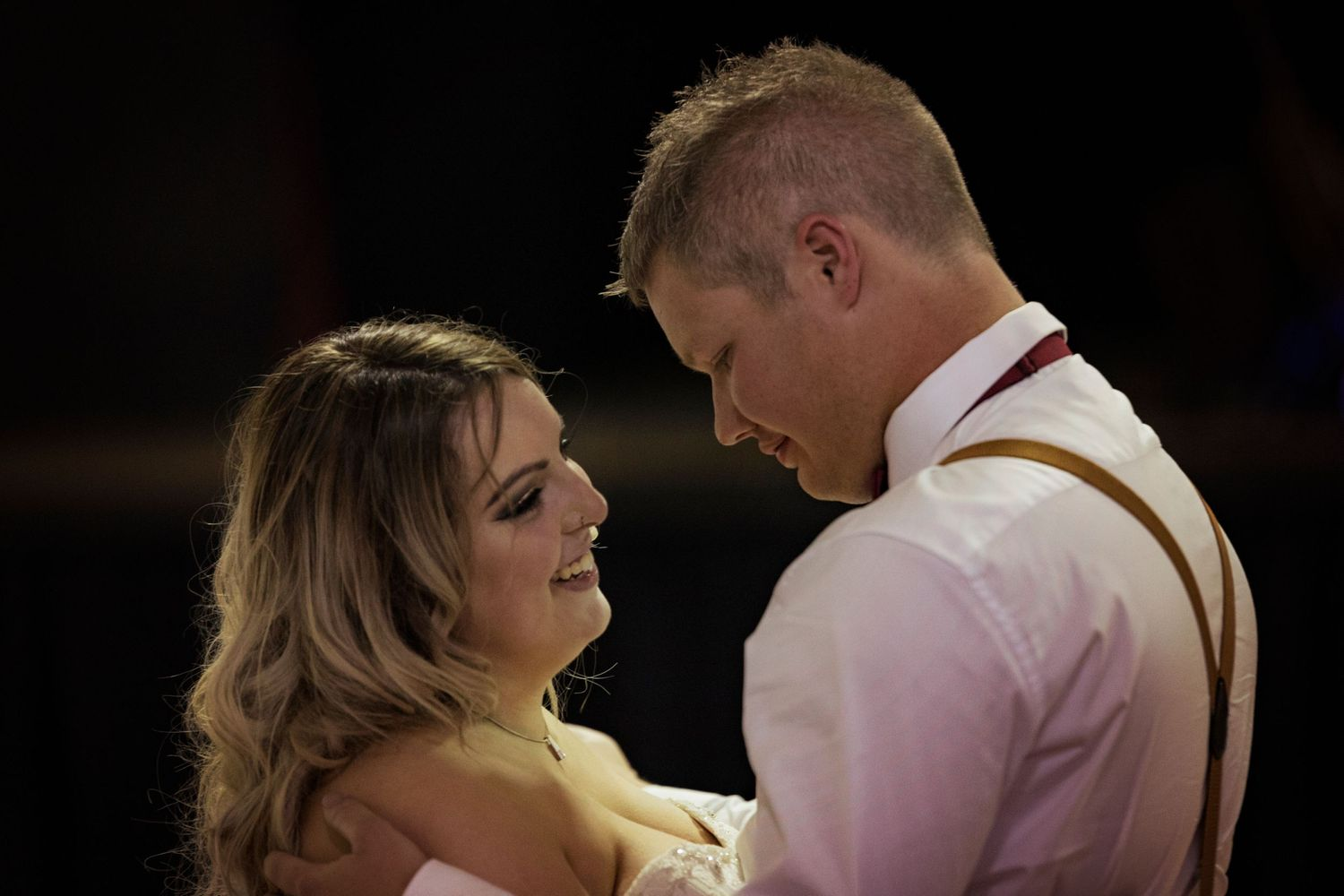 Bride and Groom First Dance Country Victorian Wedding Photographer