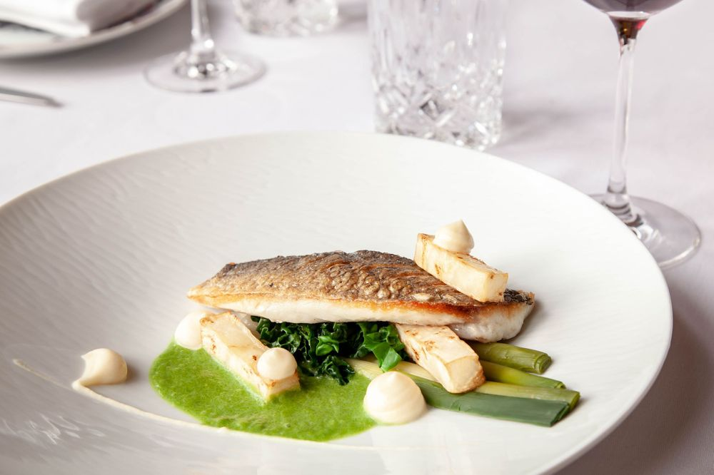 Fish Dish Hotel Food PhotographyPale Hall Snowdonia Wales