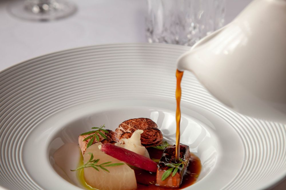 Fine Dining Food Photography Pale Hall Snowdonia Wales