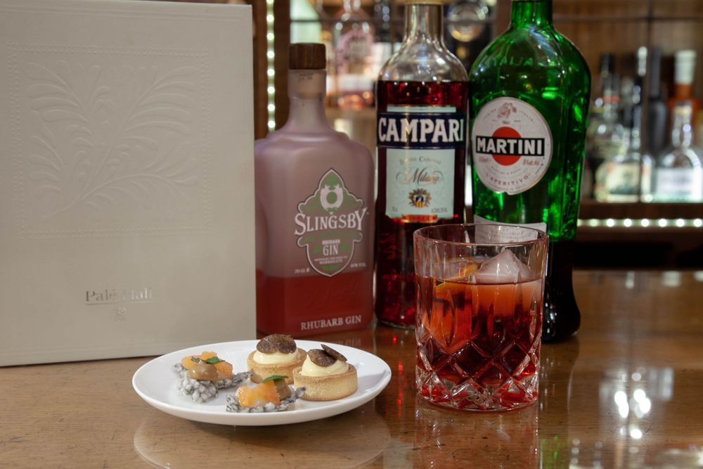 Cocktails on a Hotel Bar Photography Pale Hall Snowdonia Wales