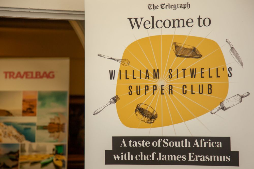 Daily Telegraph Supper Club Winchester Guildhall Event Photography