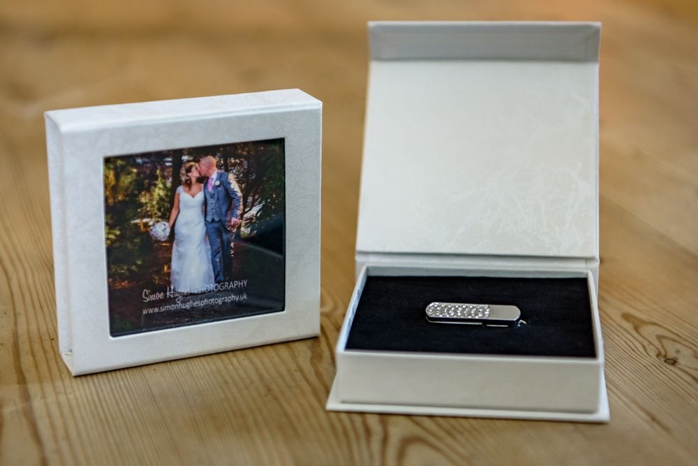 Personalised wedding USB drive