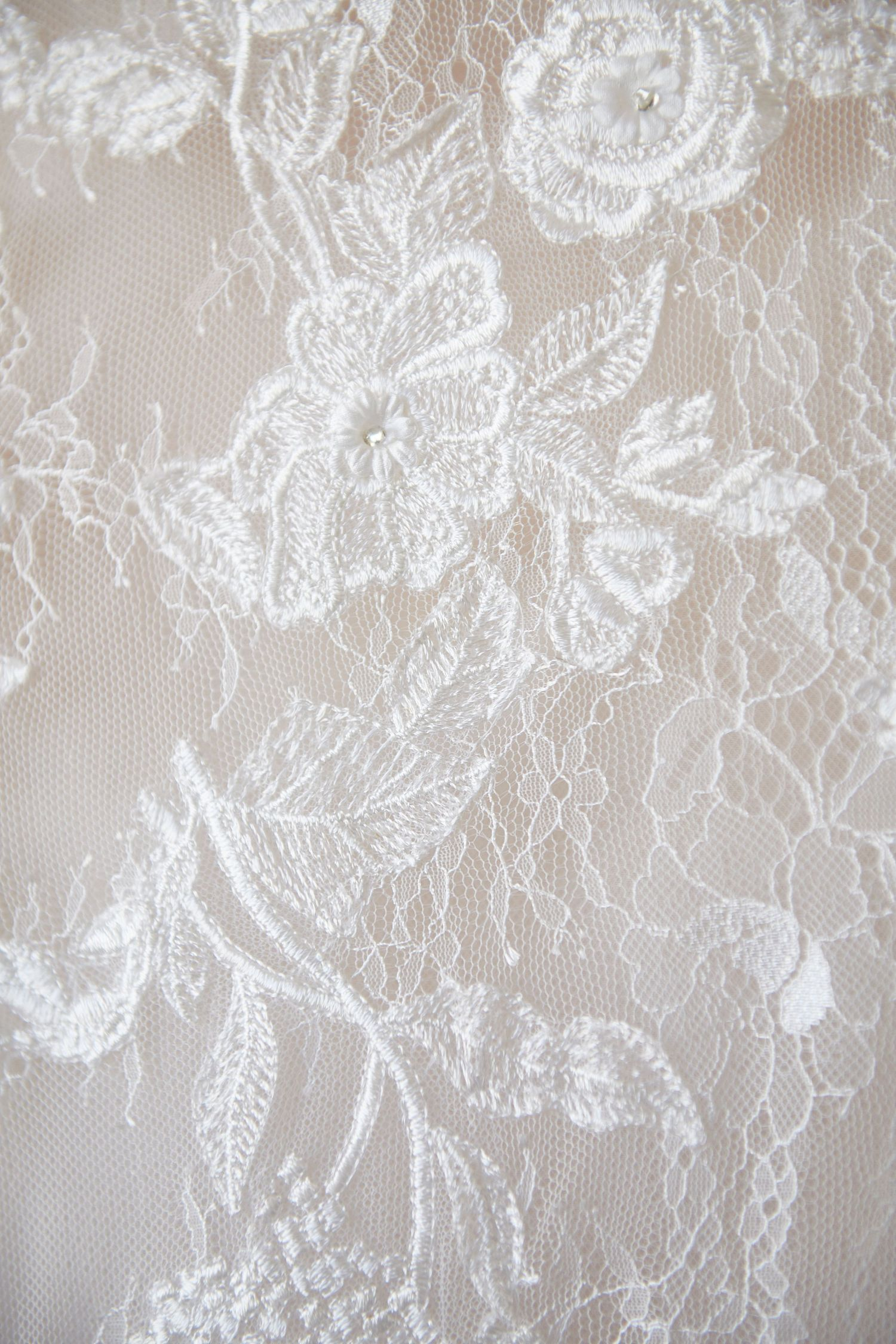 wedding dress detail photograph