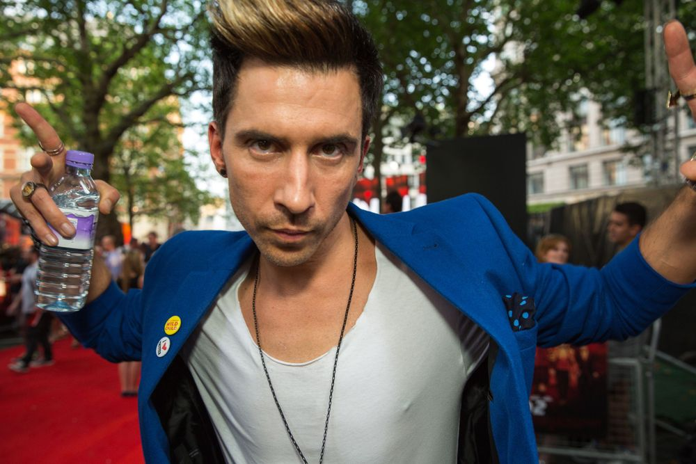 Russell Kane at a Film Premiere in London