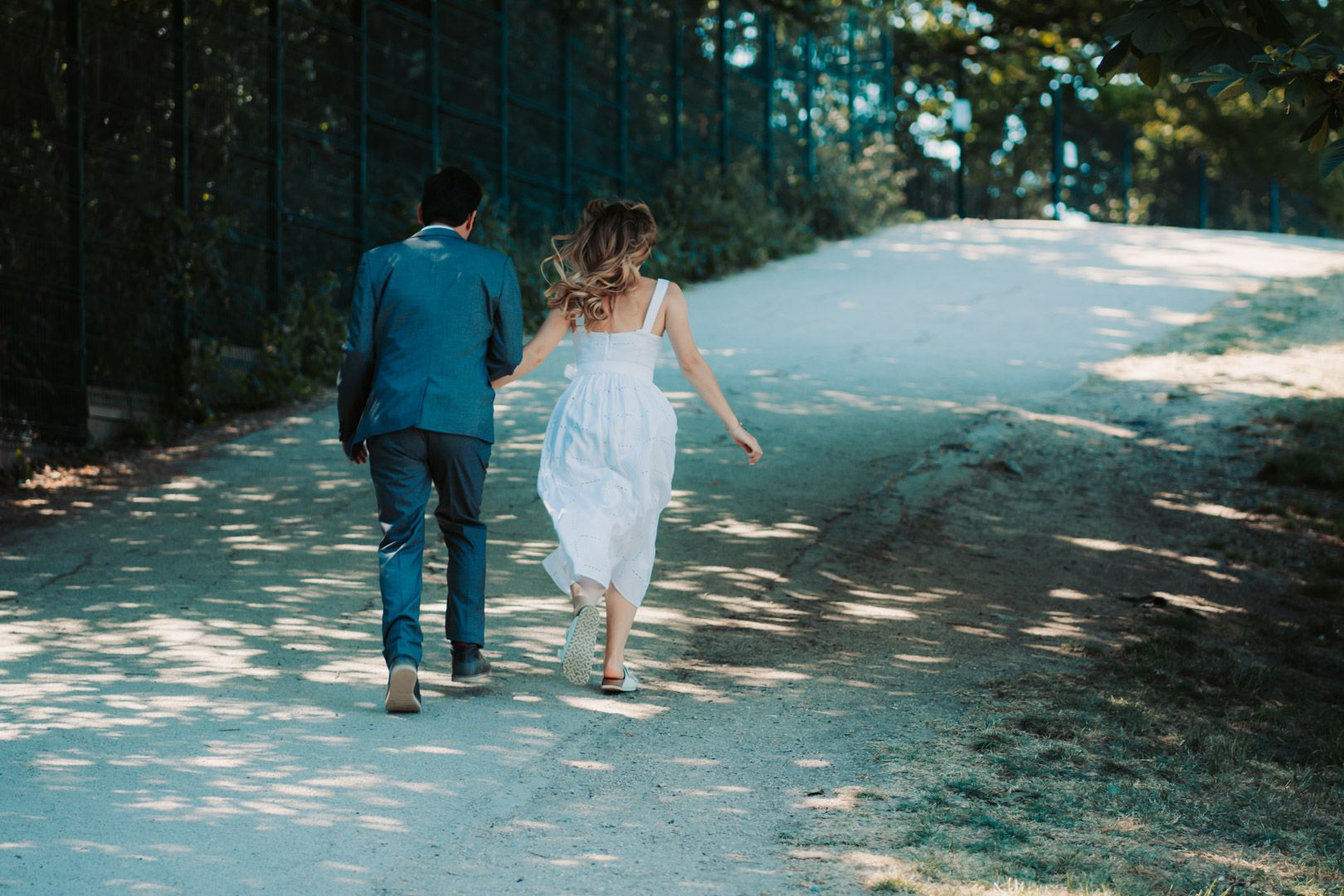 Crystal Palace Park Engagement Photography