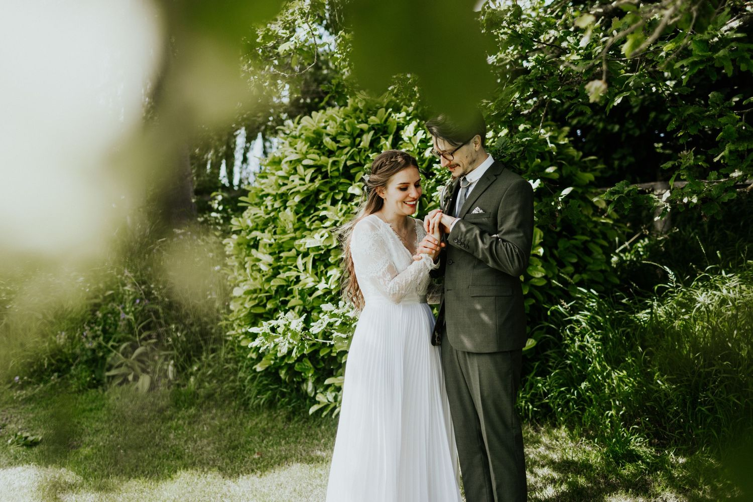priston mill wedding couples portrait