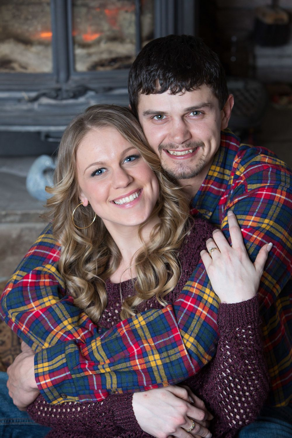 Winter Engagement Shoot in Williamson, NY